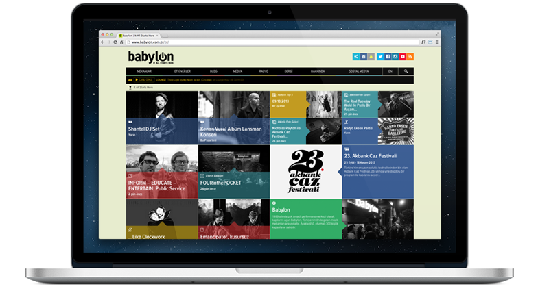 Babyon website | Project Isotope