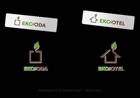 EkoPartner Ekootel logo çalışması