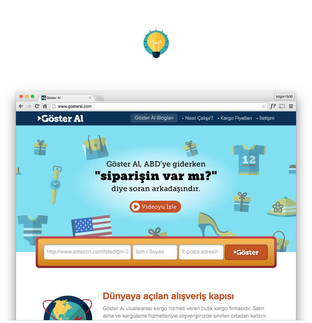 Göster Al Websitesi