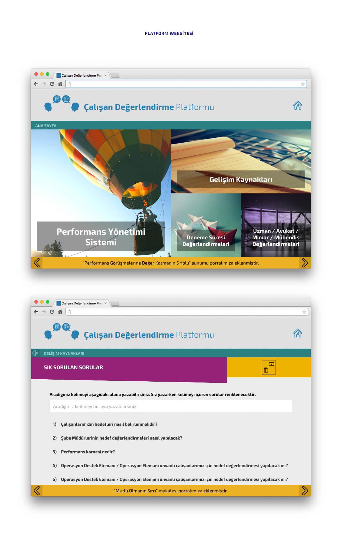 İş Bankası ÇDP websitesi
