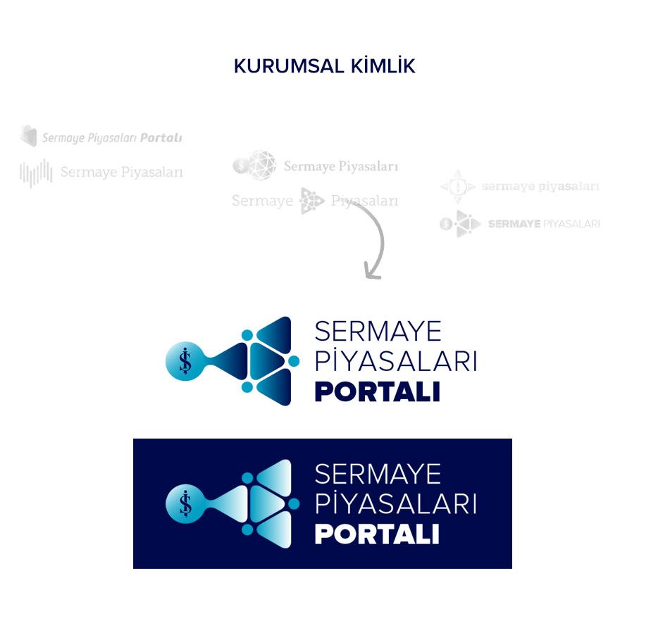 Sermaye Piyasası Logo Çalışması